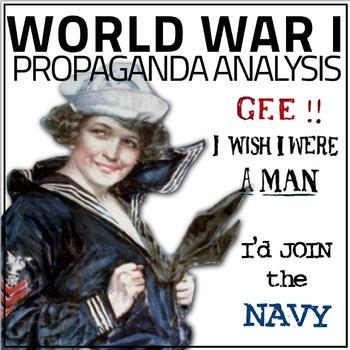 World War I Propaganda Analysis Activity(WWI)