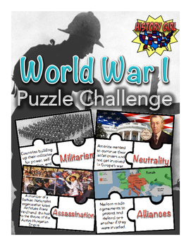 World War I Puzzle Challenge