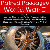 World War I Reading Comprehension Paired Passages