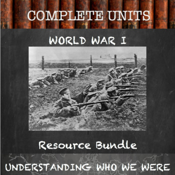 Unit Resource Bundle:  World War 1