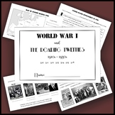 World War I, Roaring Twenties, and Great Depression intera
