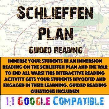 World War I - Schlieffen Plan Reading!