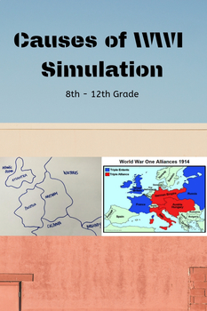 World War I Simulation Game