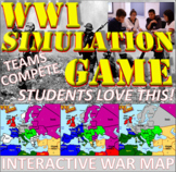 World War I Simulation Game (Student Favorite!)