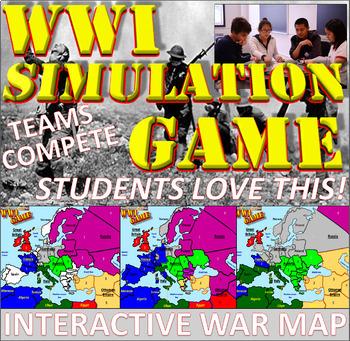 World War I Simulation Game (Student Favorite!)