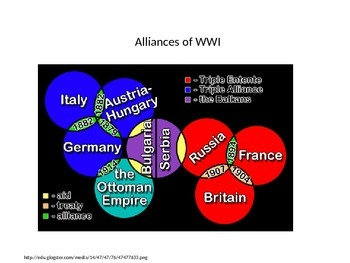 World War I - Soldier Diagram Project PPT
