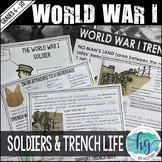 World War I Soldiers and Trench Life PowerPoint Guided Notes (Print and Digital)