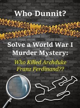 World War I Spark: Archduke Assassination Clue Game