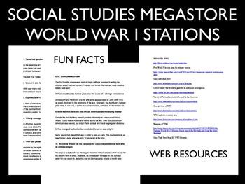 World War I Stations US History