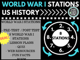 World War I WWI Stations US History