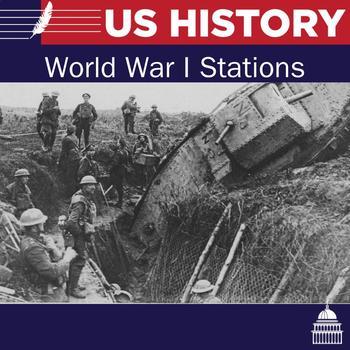 World War I - 6 Stations Lesson
