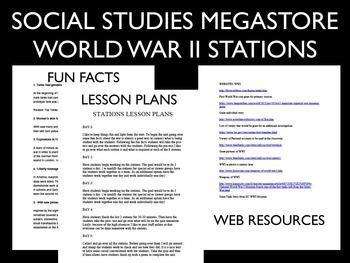 World War II Stations World History