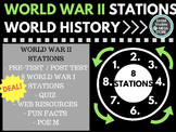 World War II Stations World History