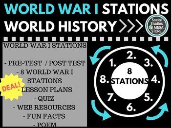 World War I Stations World  History