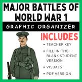 World War 1: Graphic Organizer & Word Search
