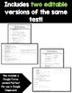 World War I and 1920s Study Guide and Tests