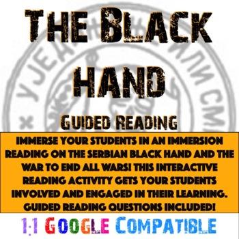 World War I - The Black Hand Reading!