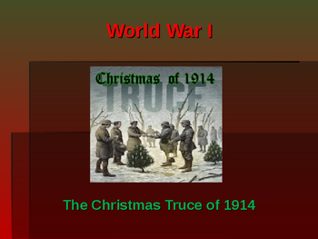 World War I - The Christmas Truce of 1914