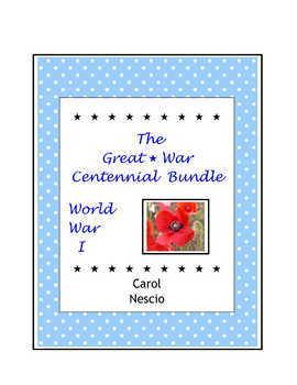 World War I ~ The Great War Centennial Bundle