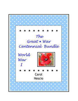 The Great War Centennial Bundle ~ World War I