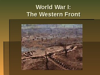 World War I - The Western Front