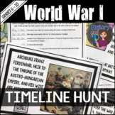 World War I Timeline Activity