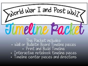 World War I Timeline Packet