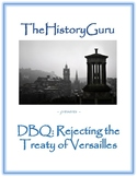 World War I: Treaty of Versailles DBQ plus skill building
