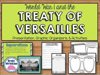 World War I, Treaty of Versailles, and Worldwide Depressio