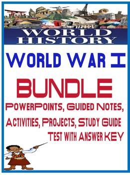 World War I Unit Bundle