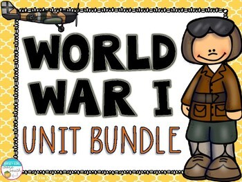 World War I Unit Bundle (WWI, WW1)