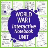 World War I Interactive Notebook Unit (TWELVE World War One Lessons!)