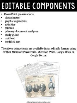 World War 1 Curriculum, World War I, WW1, WWI