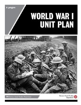 World War I Unit Plan