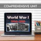 World War I Unit: PowerPoint, Guided Notes, Stations, Activities, Close Reading