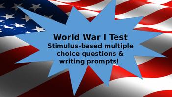 World War I Unit Test