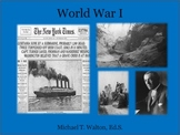 World War I Unit with PowerPoint for US History 1865 to the Present