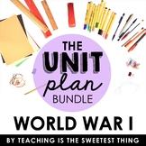 World War I Unit (without passages)
