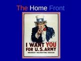 World War I-United States Homefront