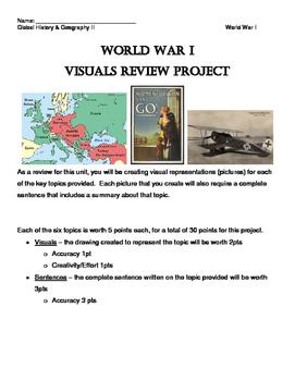 World War I Visuals Review Project