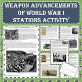 World War I (WW1) Weapon Advancements Stations Activity