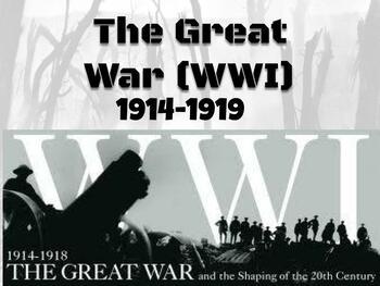 World War I (WWI)