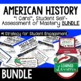 World War I (WWI) I Cans Student Self Assessment Mastery-- American History