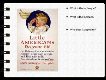 World War I (WWI) Propaganda Poster Analysis