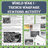 World War I (WWI) Trench Warfare Primary Source Stations Activity