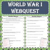 World War I (WWI) Webquest