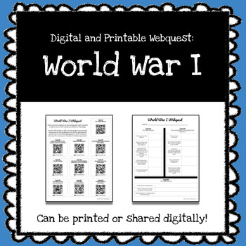 World War I Webquest