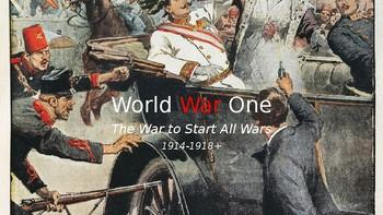 World War I, Parts I & II: Wilson, Versailles, Influenza 1918, and Hitler