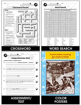 World War I: Woodrow Wilson's Fourteen Points Gr. 5-8