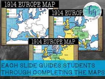 Armistice Day Historical Atlas Of Europe 11 November 1918. World War ...